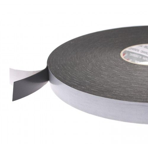 1822 Black Double Sided Foam Tape